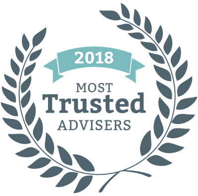 Blueprint wealth planners awarded 2018 most trusted adviser image of most trusted adviser award logo malvernweather Gallery