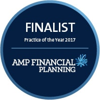 AMP Financial Planning Finalist Practice of the Year 2017 - Blueprint Wealth Financial Advisor Perth