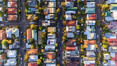 australian housing downturn